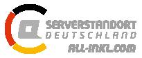 Website läuft auf deutschen Servern, Ihre Daten werden nach deutschem Recht gesichert