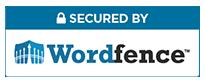 Mit Wordfence gesicherte Website