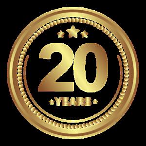 20 jähriges Jubiläum