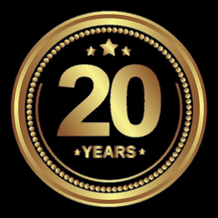 20 Jahre Jubiläum Bild
